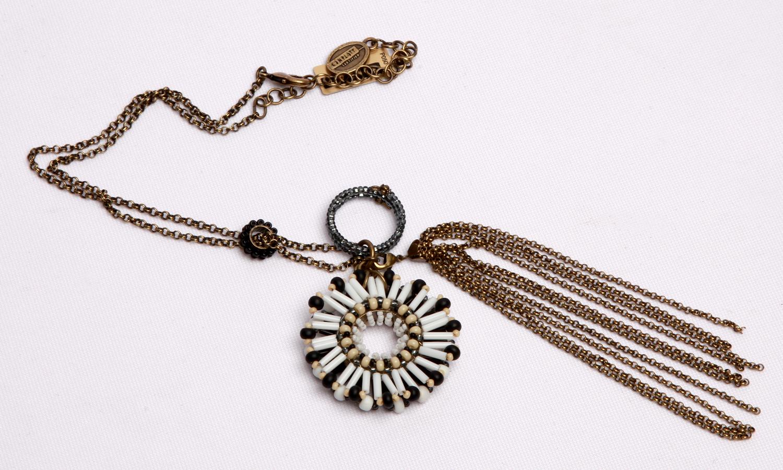 Halskette mit Anhänger - Massai Goes Fishing Collection