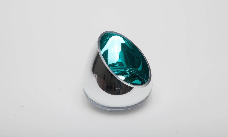 Fink Colorful Windlicht blaugrün