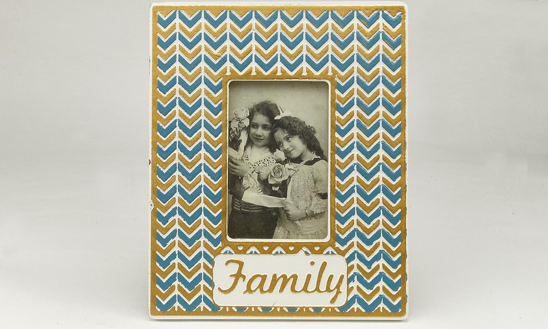 "Deko Holzrahmen ""Family""  10 x 15 cm"