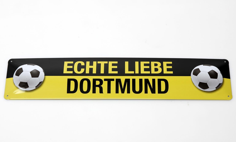 Deko Blechschild / Dortmund