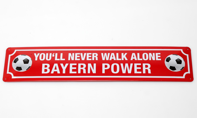 Deko Blechschild / Bayern