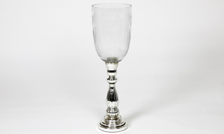 Exner Windlicht Iride mit Glas Höhe 48 cm