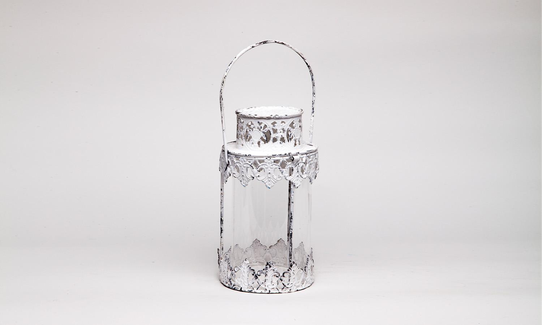 Laterne ArtFerro, Metall, 13,5x13,5x24 cm