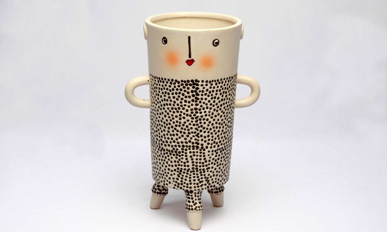 Keramik Blumentopf XOXO Exner