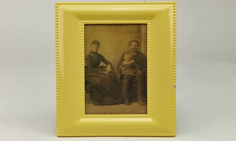 Deko Blechrahmen 12,5 x 17,5 cm