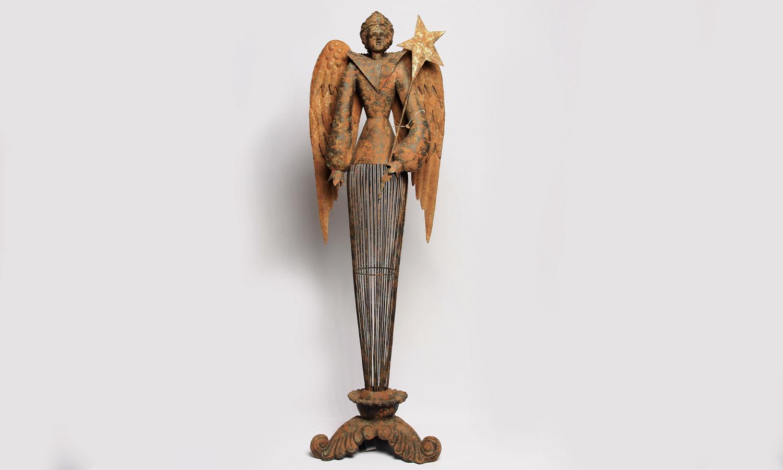 Dekofigur - Engel mit Stern