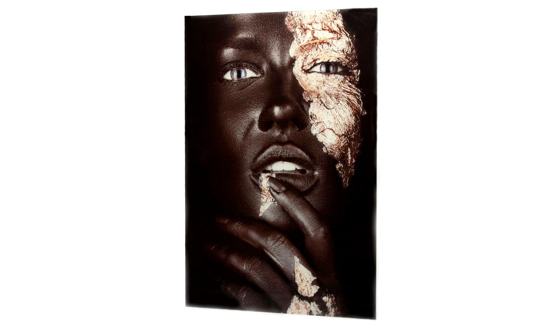 """Glasbild  80 x 120 """"Portrait Art"""""""