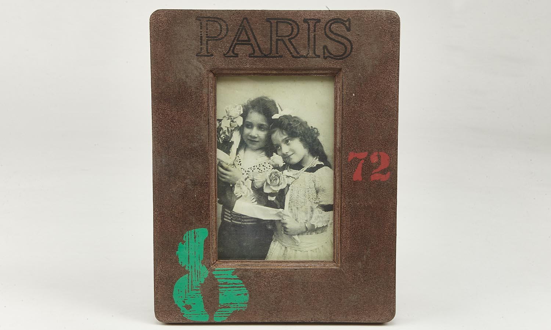 "Deko Holzrahmen ""Paris""  10 x 15 cm"