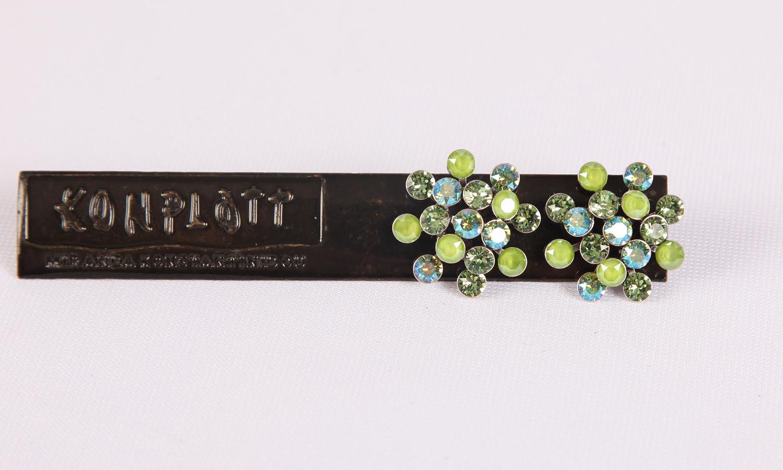 Konplott Magic Fireball Ohrstecker/Halskette green Classic Size