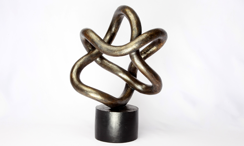 "Deko Kunst Figur ""String Art"""