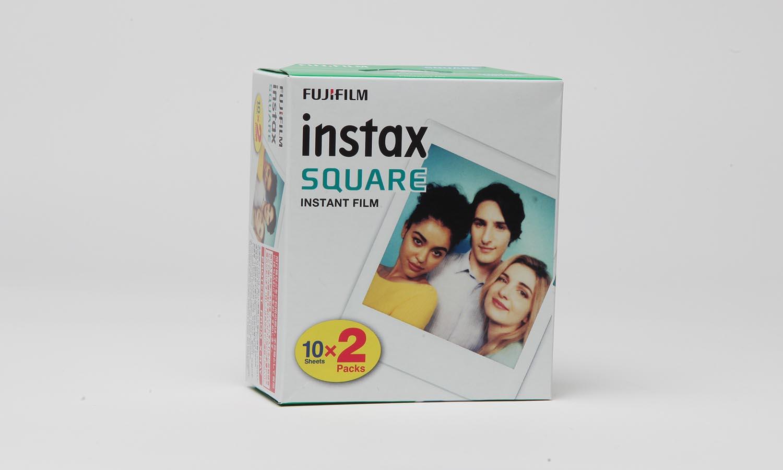 Fujifilm instax square Film DOPPELPACK 2x10 Fotos