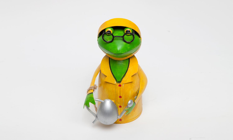 Frosch  von Exner  Jeder Frosch wurde in Handarbeit gefertigt und ist somit ein Einzelstück  NEU!