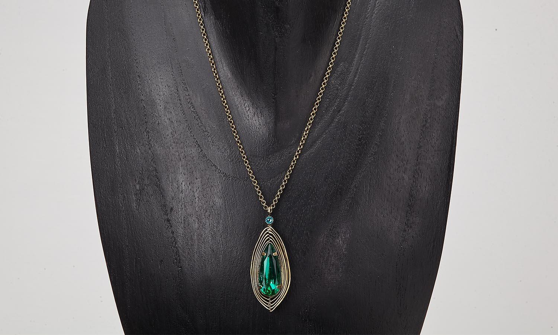 Halskette mit Anhänger - Amazonia