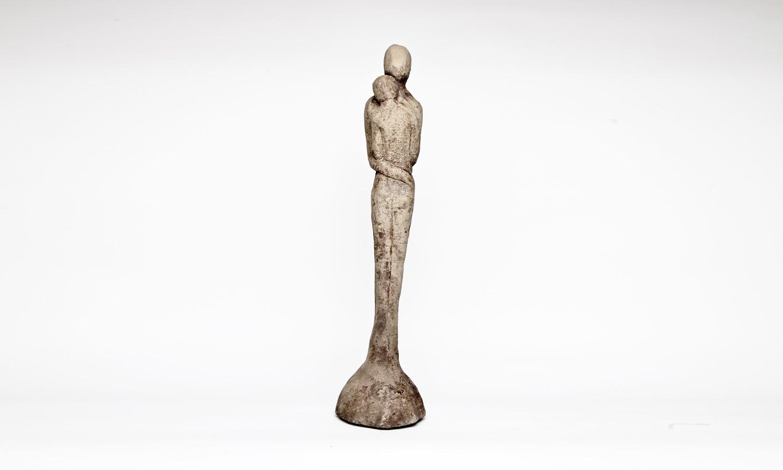 Stein Skulptur Paar