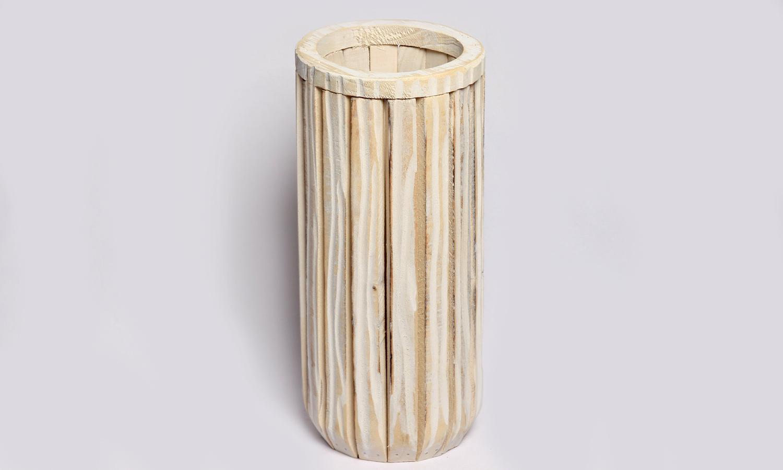 Holz Behälter (Rund)