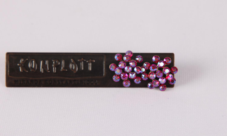 Konplott Magic Fireball Ohrstecker/Halskette red lt. siam shimmer mini Size