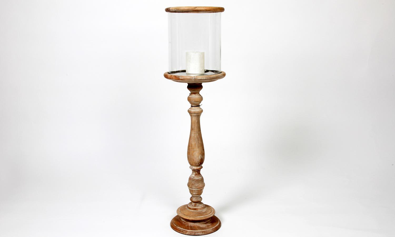 Exner Windlicht mit Glas Höhe 85 cm