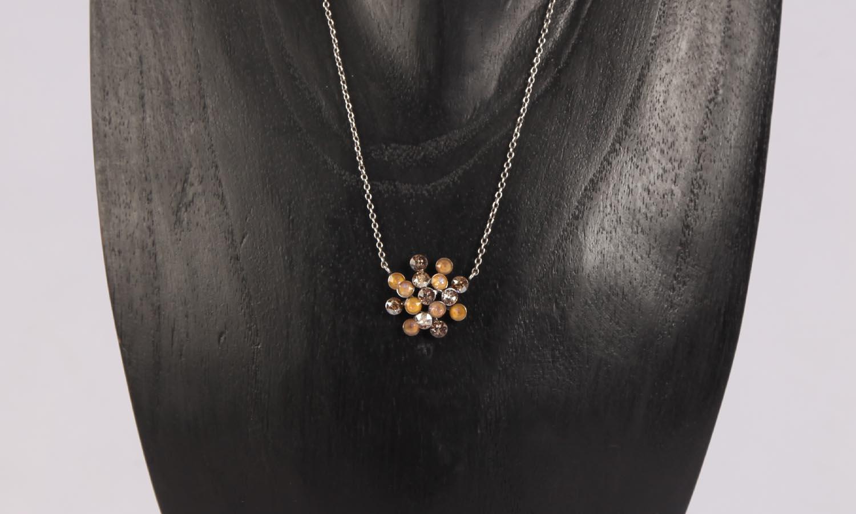Konplott Magic Fireball Ohrstecker/Halskette beige Classic Size