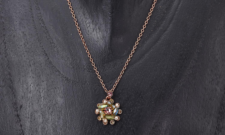 Halskette mit Anhänger -Soul of Thorns Color Theme: Sunset