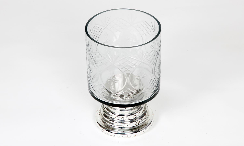 Exner Windlicht Iride mit Glas Höhe 23 cm
