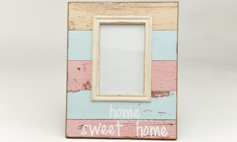 "Deko Holzrahmen ""Home sweet Home""  10 x 15 cm"